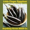 Eggplant - Little Finger - Organic