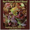 Lettuce - Red Planet Salad Blend - Organic
