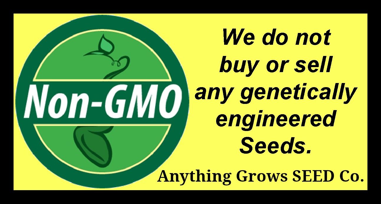 We do not buy or sell GMO seeds.